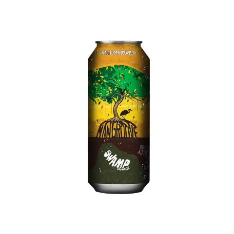 Cerveja Swamp Brewing Mangroove India Pale Lager Lata - 473ml