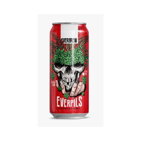 Cerveja EverBrew EverPils Pilsner Lata - 473ml