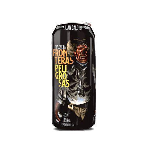 Cerveja Juan Caloto Fronteras Peligrosas Triple New England IPA Lata - 473ml