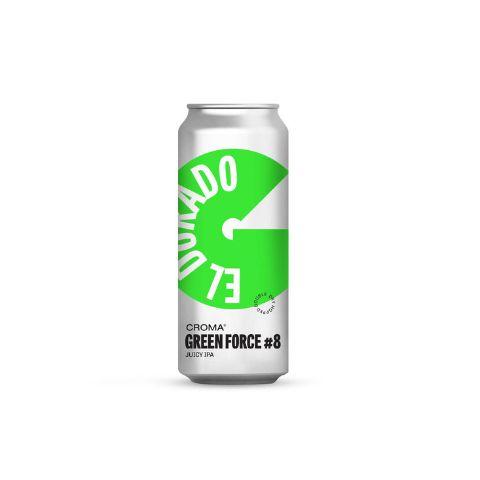 Cerveja Croma Green Force #8 Juicy IPA Lata - 473ml