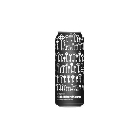 Cerveja Croma 4 Billion Keys Double New England IPA Lata - 473ml