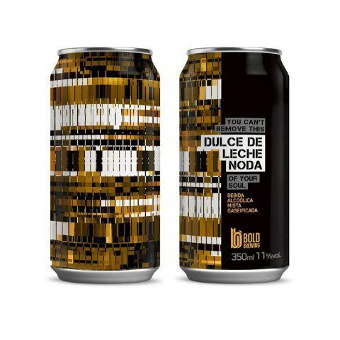 Cerveja Bold Brewing Dulce De Leche Noda Imperial Sweet Stout C/ Doce de Leite e Lactose Lata - 350ml