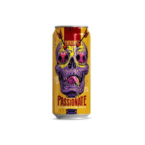 Cerveja EverBrew Passionate Sour IPA C/ Maracujá Lata - 473ml