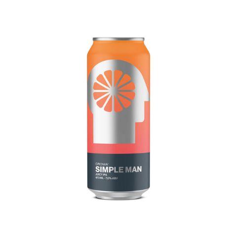 Cerveja Croma Simple Man Juicy IPA Lata - 473ml