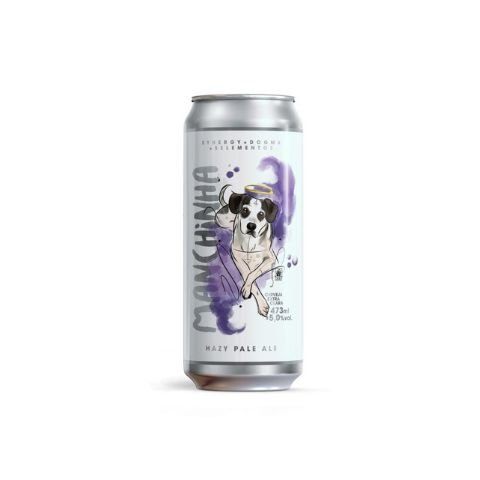 Cerveja Synergy + 5 Elementos + Dogma Manchinha Hazy Pale Ale Lata - 473ml