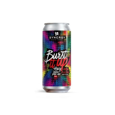 Cerveja Synergy Burst It Up Hazy IPA Lata - 473ml