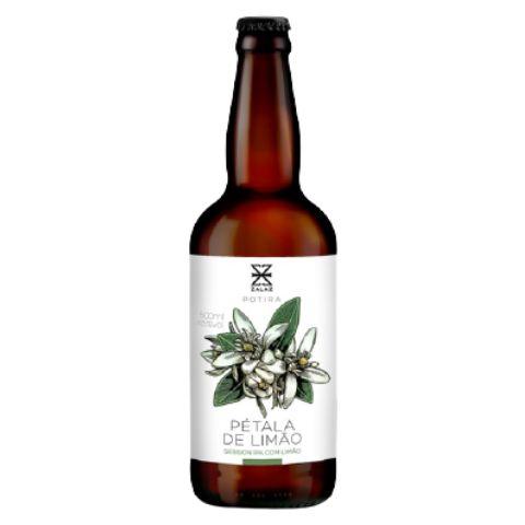 Cerveja Zalaz Pétala de Limão Session IPA C/ Limão da Fazenda - 500ml