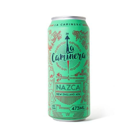Cerveja La Caminera Nazca New England APA Lata - 473ml