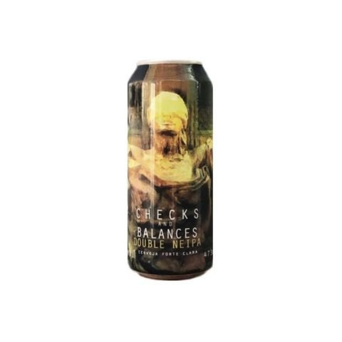 Cerveja Spartacus Checks And Balances Double New England IPA Lata - 473ml