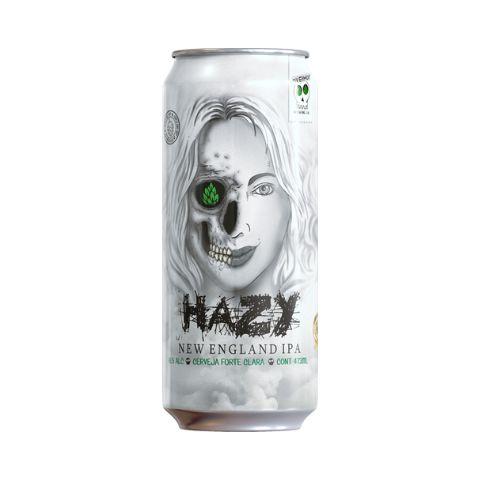Cerveja Overhop Hazy New England IPA Lata - 473ml