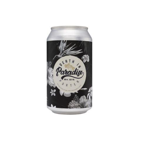Cerveja Koala San Brew + Denver Beer Co. Death In Paradise Porter C/ Chocolate e Coco Lata - 350ml