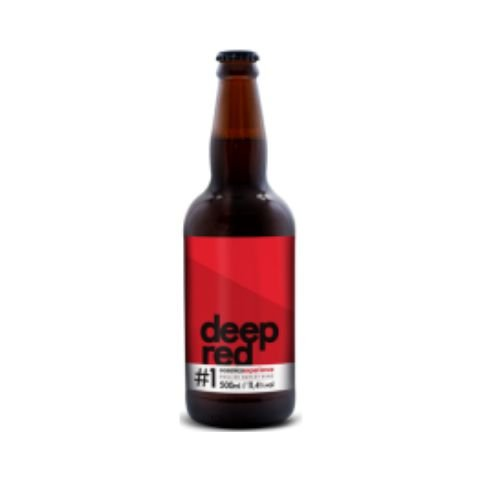 Cerveja Oceânica Deep Red Barleywine C/ Melado de Cana - 500ml