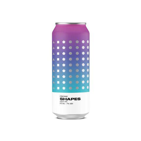 Cerveja Croma Shapes Juicy IPA Lata - 473ml