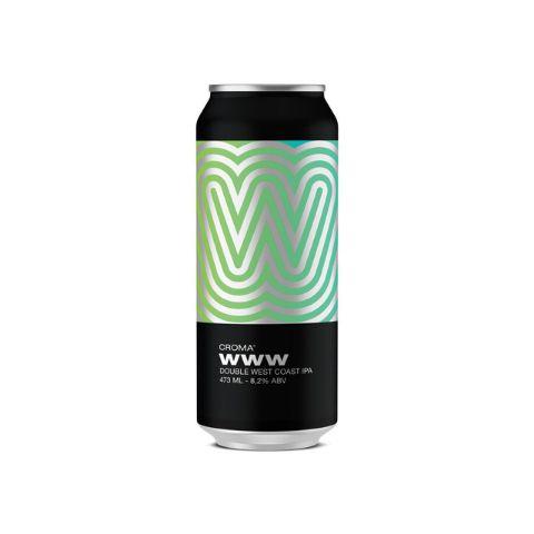 Cerveja Croma WWW Double West Coast IPA Lata - 473ml