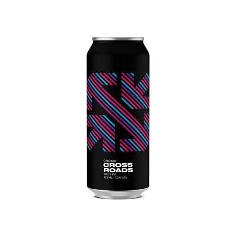 Cerveja Croma Cross Roads Juicy IPA Lata - 473ml