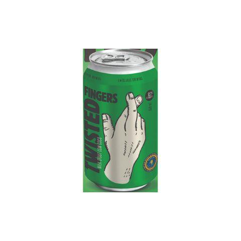 Cerveja 4 Islands Twisted Fingers Milk Stout C/ Coco Lata - 350ml