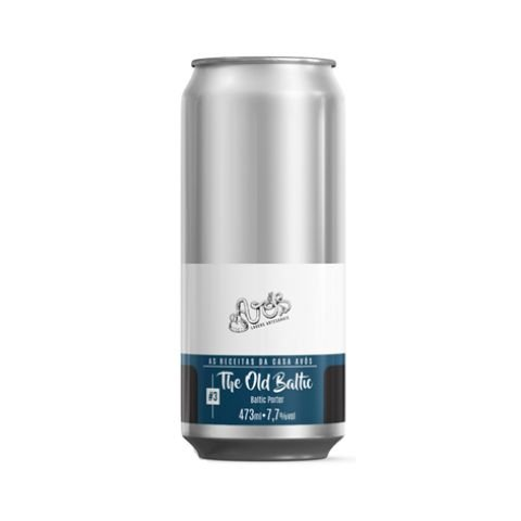 Cerveja Avós The Old Baltic Baltic Porter Lata - 473ml