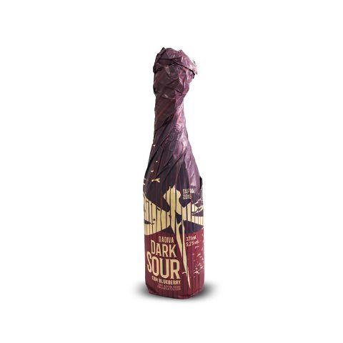 Cerveja Dádiva Dark Sour Blueberry Oud Bruin C/ Blueberry - 375ml