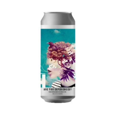 Cerveja Octopus Are You Experienced? Double New England IPA Lata - 473ml