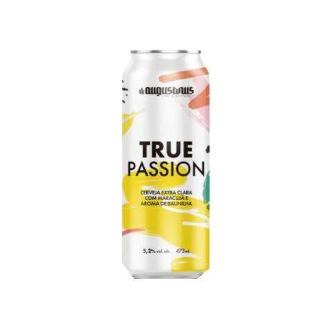 Cerveja Augustinus True Passion Berliner Weisse C/ Maracujá e Baunilha Lata - 473ml