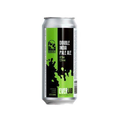 Cerveja EverBrew EverLab Double IPA Lata - 473ml