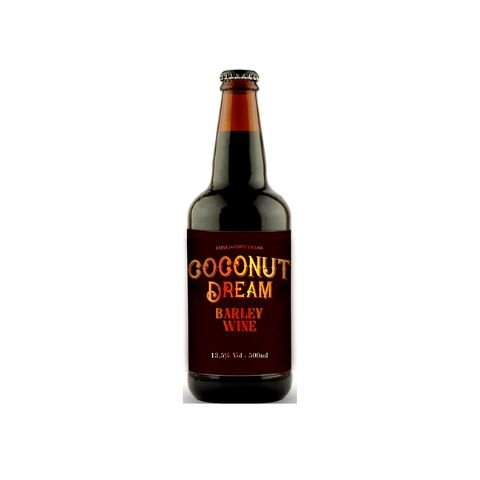 Cerveja 5 Elementos Coconut Dream Barley Wine - 500ml