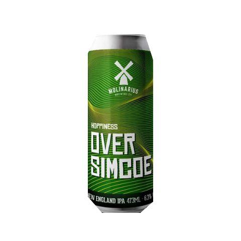 Cerveja Molinarius OverSimcoe New England IPA Lata - 473ml