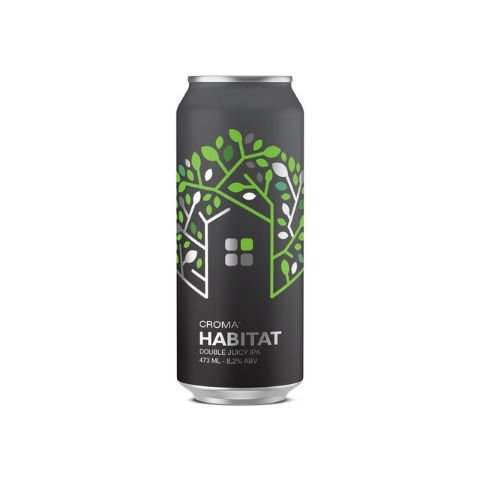 Cerveja Croma Habitat Double Juicy IPA Lata - 473ml