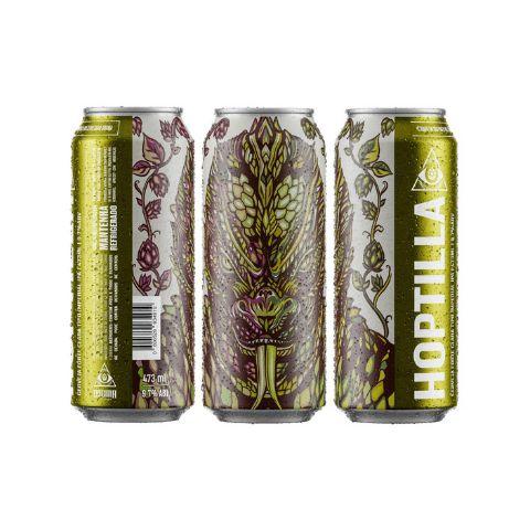 Cerveja Dogma Hoptilla Imperial IPA Lata - 473ml