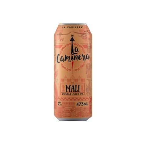 Cerveja La Caminera Mali Double New England IPA Lata - 473ml
