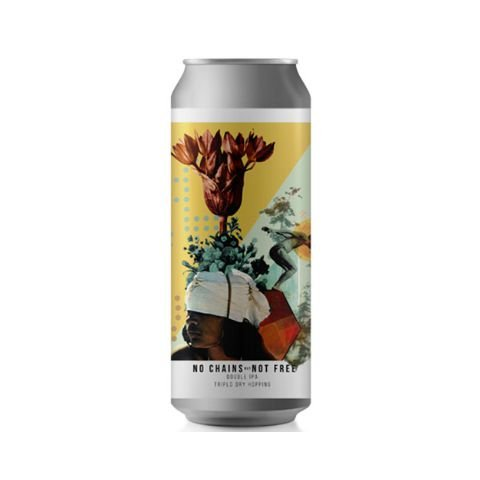 Cerveja Octopus No Chains But Not Free Double New England IPA Lata - 473ml