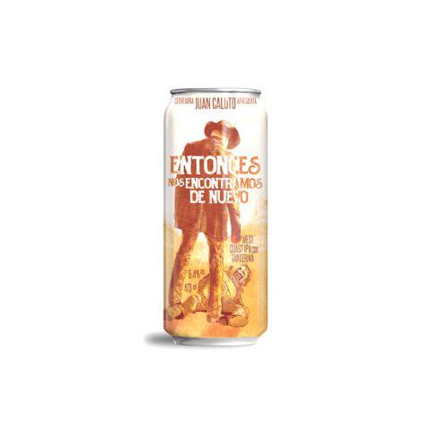 Cerveja Juan Caloto Entonces Nos Encontramos De Nuevo West Coast IPA C/ Tangerina Lata - 473ml