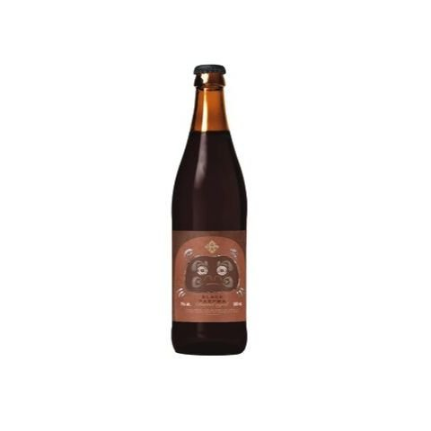 Cerveja Japas Black Daruma Barrel Aged Whisky Barrel Aged Russian Imperial Stout C/ Caqui Fuyu - 500ml