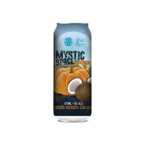 Cerveja Satélite + Cigana Mystic Space Pumpkin Pumpkin Ale C/ Coco Lata - 473ml