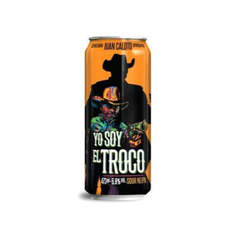 Cerveja Juan Caloto Yo Soy El Troco Sour Juicy IPA Lata - 473ml