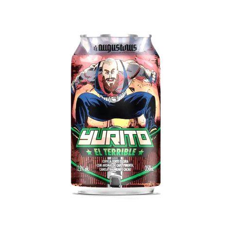 Cerveja Augustinus Yurito, El Terrible Mexican Russian Imperial Stout C/ Cacau, Pimenta, Baunilha, Café e Canela Lata - 350ml