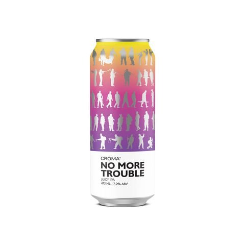 Cerveja Croma No More Trouble Juicy IPA Lata - 473ml