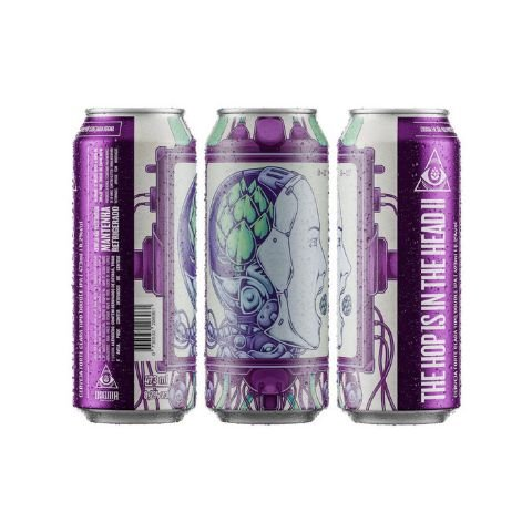 Cerveja Dogma The Hop Is In The Head II Double IPA Lata - 473ml