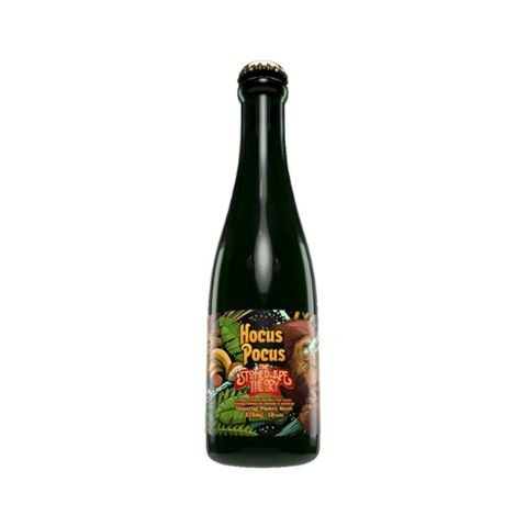 Cerveja Hocus Pocus The Stoned Ape Theory Imperial Pastry Stout C/ Banana e Chocolate - 375ml