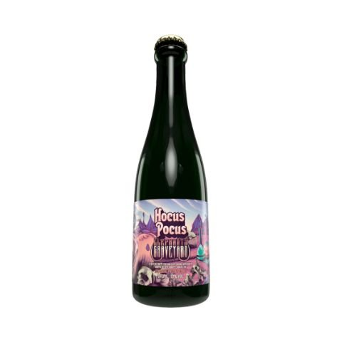 Cerveja Hocus Pocus Elephant's Graveyard Imperial Pastry Stout C/ Amendoim e Chocolate - 375ml