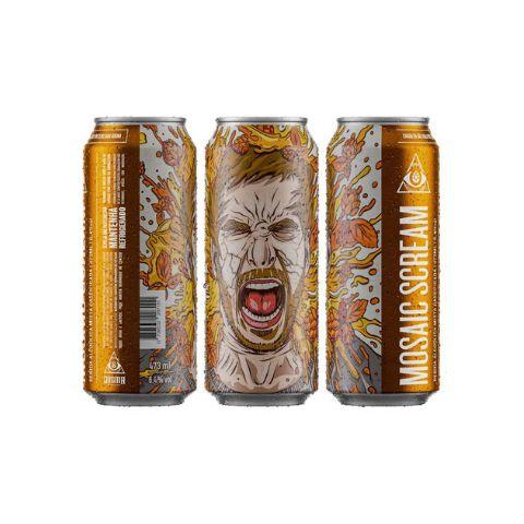 Cerveja Dogma Mosaic Scream Milkshake IPA Lata - 473ml