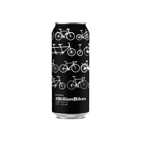 Cerveja Croma 4 Billion Bikes Double New England IPA Lata - 473ml
