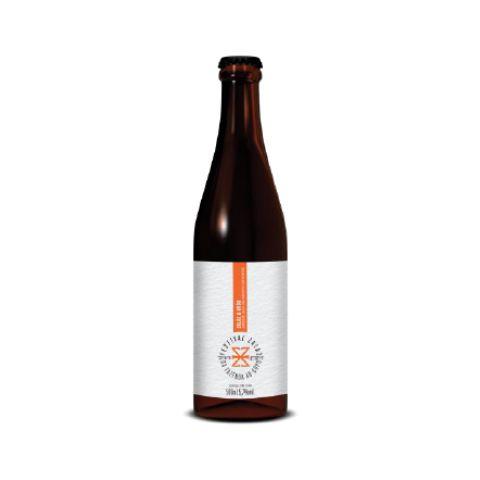Cerveja Zalaz + Avós Da Fazenda ao Copo 2019 American Lager C/ Mandioca - 500ml