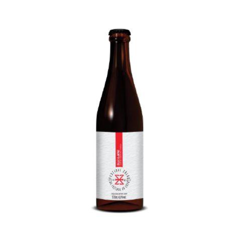 Cerveja Zalaz + Japas Da Fazenda ao Copo 2019 Sour Ale C/ Natto de Feijão Orgânico, Pitaya e Hibisco - 500ml