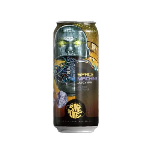 Cerveja Satélite Space Machine New England IPA Lata - 473ml