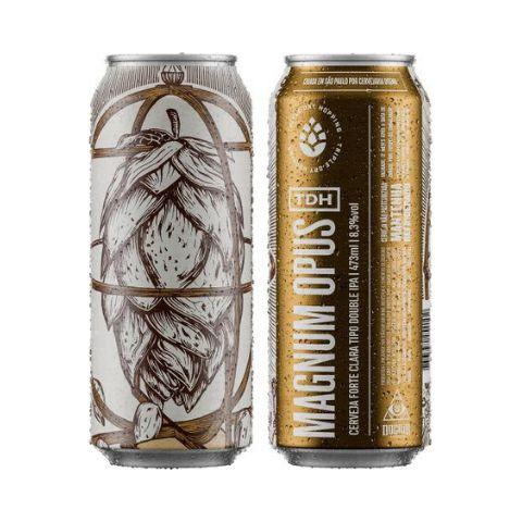 Cerveja Dogma TDH Magnum Opus Double IPA Lata - 473ml