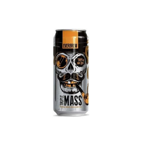 Cerveja EverBrew Triple Mass Triple New England IPA Lata - 473ml