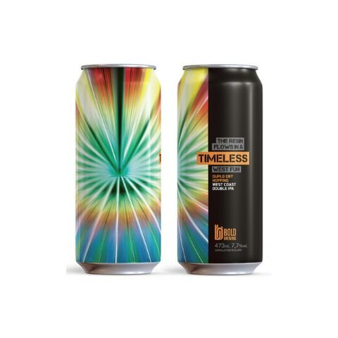 Cerveja Bold Brewing Timeless Double West Coast IPA Lata - 473ml
