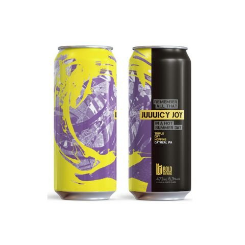 Cerveja Bold Brewing Juuuicy Joy TDH New England IPA Lata - 473ml