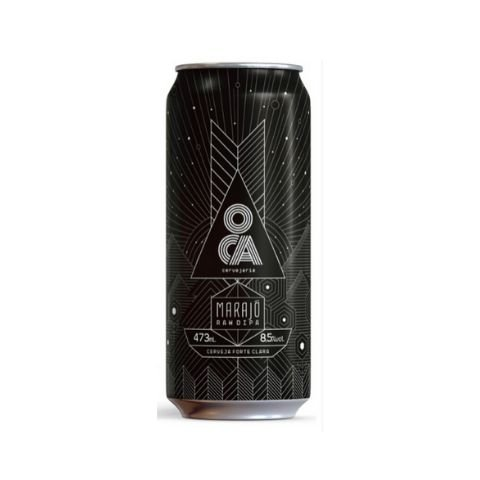 Cerveja Oca Marajó Raw Double IPA Lata - 473ml